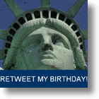 Tweets from the Crown - Statue of Liberty Opens A Twitter Account
